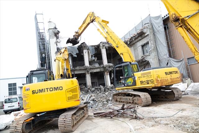 鉄筋コンクリート造解体工事